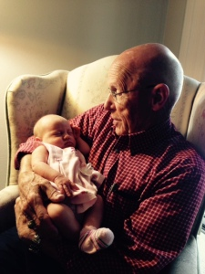 Grand and great-granddaughter